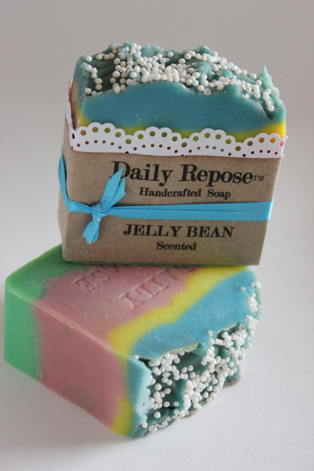 JELLY BEAN Soap Scented EASTER Vegan Cold Process Cp